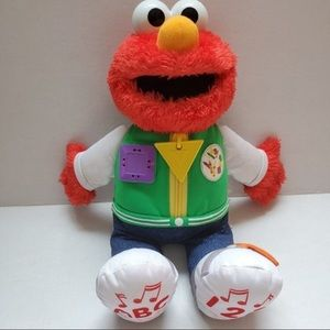 Sesame Street Talking Elmo Plush Doll